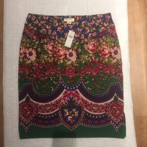 NWT Maeve by Anthropologie Pencil Skirt
